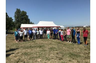 Відкриття чергового чемпіонату України з класичного парашутизму